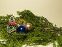 Imagens do ano novo e do Natal Fotografia de Stock Royalty Free