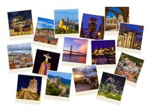 Imagens do curso de Lisboa Portugal minhas fotos imagem de stock royalty free