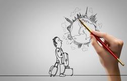 Imagens do desenho da mão Fotos de Stock Royalty Free