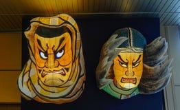 Imagens do deus em Aomori Nebuta Matsuri imagem de stock