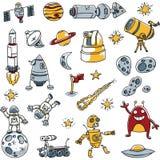 Imagens do espaço Foto de Stock