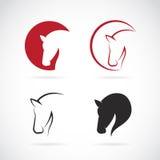 Imagens do vetor do projeto do cavalo Imagens de Stock