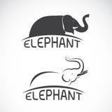 Imagens do vetor do projeto do elefante Imagem de Stock
