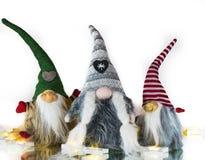 Imagens e ilustrações do Natal Santa Clauss de espera imagem de stock royalty free