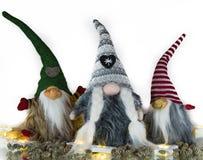 Imagens e ilustrações do Natal Santa Clauss de espera fotografia de stock royalty free