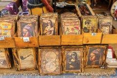 Imagens em uma loja antiga em Aix-en-Provence, França Imagem de Stock Royalty Free