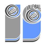 Imagens para o texto a propósito do voleibol ilustração royalty free