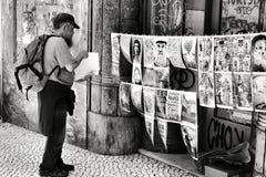 Imagens para a venda em Lisboa fotografia de stock royalty free