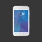 Imagens Photorealistic do funcionamento do smartphone Imagens de Stock