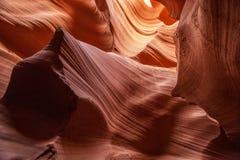 Imagens reais da garganta mais baixa do antílope no Arizona, EUA Imagens de Stock