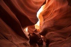 Imagens reais da garganta mais baixa do antílope no Arizona, EUA Imagem de Stock