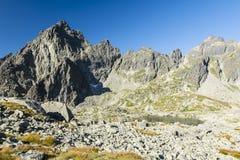 Imagens recolhidas o parque nacional TANAP de Tatra - Eslováquia, montanhas de Tatra fotos de stock
