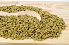 Imagens secas das lentilhas Fotos de Stock