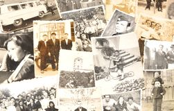 Imagens velhas Fotografia de Stock