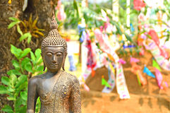 Imagens velhas de buddha Imagem de Stock Royalty Free
