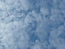 Imagery of blue sky and white clouds royalty free stock images