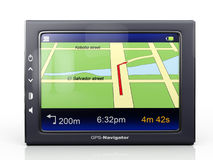 Images 3d: gps-navigator Stock Photo