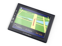 Images 3d: gps-navigator Stock Photography