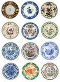 Images antiques de plaque Images stock