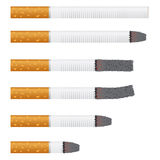 Images of cigarettes. Stock Photos