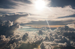 Images of clouds for stock, background Royalty Free Stock Photos