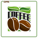 Images on coffee Stock Photos