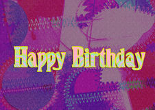 Images for Colorful backgrounds for design illustration.Happy Birthday Stock Photography