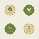 images d'écologie d'eco beaucoup mon monde de portefeuille Photos stock