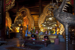 Images d'or de Bouddha Images stock