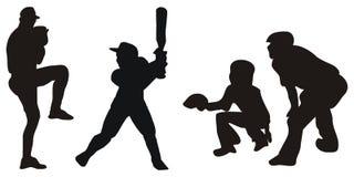 Images de base-ball Photo libre de droits