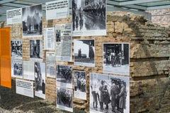 Images de la deuxième guerre mondiale à la topographie de la terreur images libres de droits