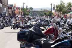 Images de rassemblement le Dakota du Sud de sturgis Images libres de droits