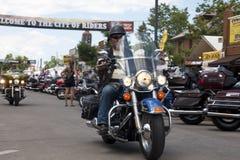 Images de rassemblement le Dakota du Sud de sturgis Images stock