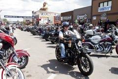 Images de rassemblement le Dakota du Sud de sturgis Photographie stock