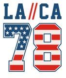 Images de texture de vecteur de drapeau de l'Amérique de texture de vecteur d'USAflags de nombre de la La Ca Photographie stock libre de droits