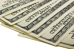 Images of 100 dollar bills Stock Image