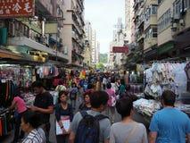 Images du fa Yuen Street Market en Hong Kong image stock