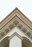 Images of facades of city buildings Royalty Free Stock Photography