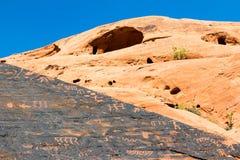 Images gráficas e caverna Fotografia de Stock