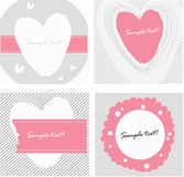 The images with heart Stock Images