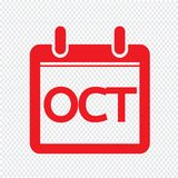 Month Calendar Icon illustration sign design style. An images of Month Calendar Icon illustration sign design style royalty free illustration