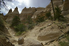 Images of the tent rocks Royalty Free Stock Photography