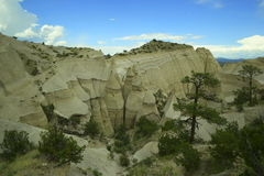 Images of the tent rocks Stock Image