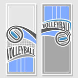 Images for text on the subject of volleyball Stock Photos