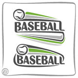 Images on the theme of baseball Stock Image