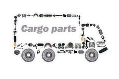 Images truck assembled from new spare parts Royalty Free Stock Image