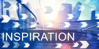 A imaginação da aspiração da inspiração inspira o conceito ideal Fotografia de Stock