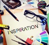A imaginação da aspiração da inspiração inspira o conceito ideal Foto de Stock Royalty Free