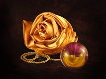 Imaginação do ouro Imagens de Stock Royalty Free