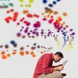 Imaginação humana Foto de Stock